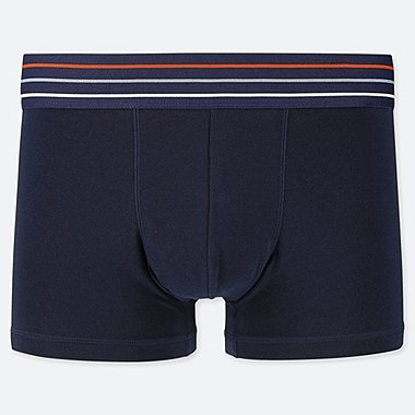MEN SUPIMA® COTTON LOW-RISE BOXER BRIEFS, NAVY, medium