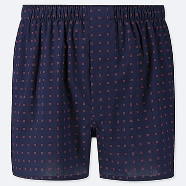 MEN WOVEN PRINTED TRUNKS
