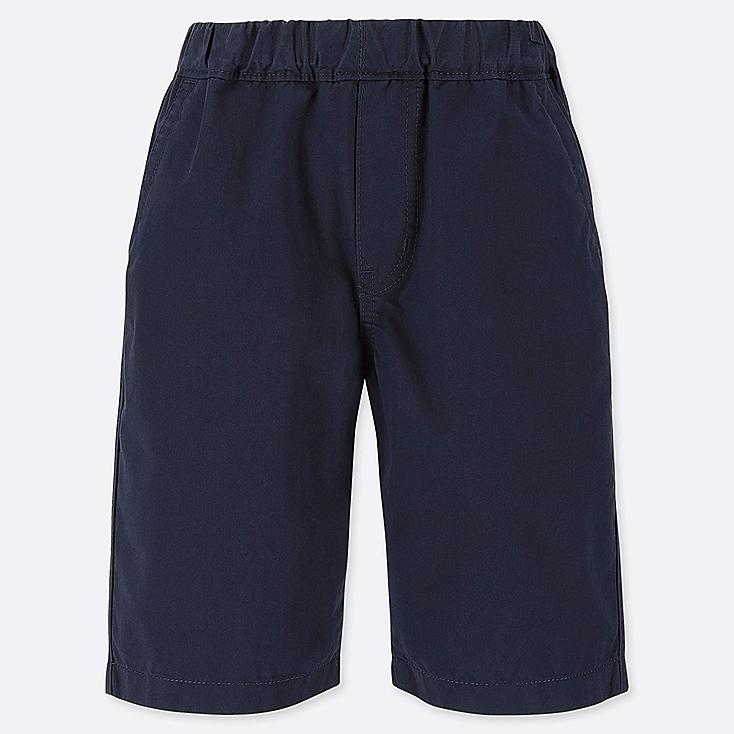 BOYS EASY SHORTS, NAVY, large