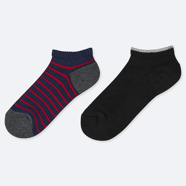 BOYS SHORT SOCKS (SET OF 2), NAVY, large