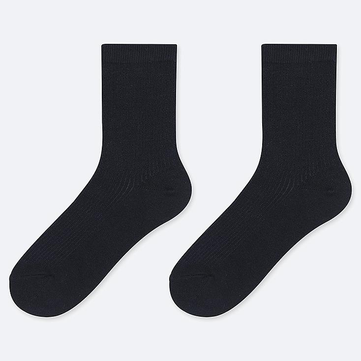 KIDS REGULAR SOCKS (SET OF 2), NAVY, large