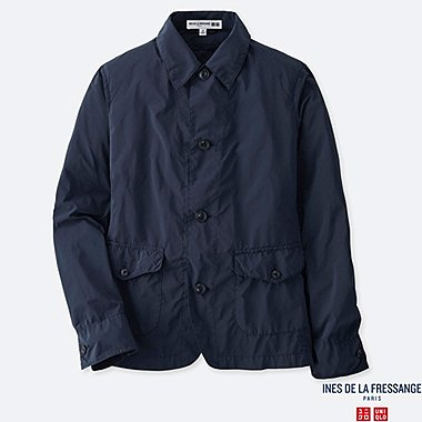 WOMEN COVERALL (INES DE LA FRESSANGE), NAVY, medium