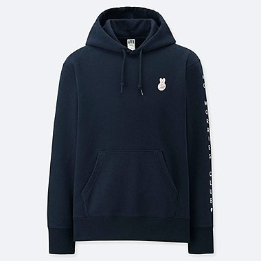 PIETER CEIZER GRAPHIC HOODED SWEATSHIRT, NAVY, medium