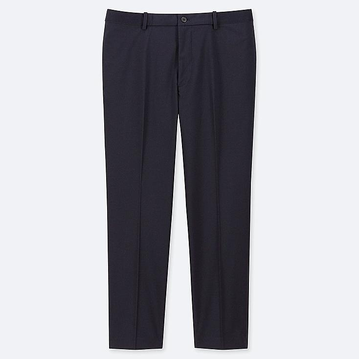 """MEN EZY ANKLE-LENGTH PANTS (TALL 31"""") (ONLINE EXCLUSIVE), NAVY, large"""
