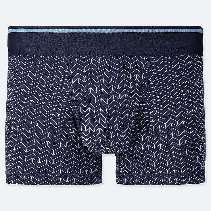 MEN SUPIMA® COTTON LOW-RISE BOXER BRIEFS, NAVY, large