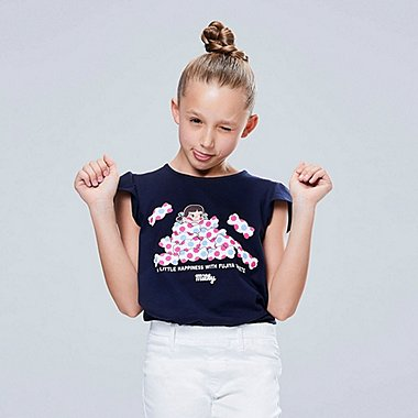 GIRLS THE BRANDS OKASHI GRAPHIC PRINT T-SHIRT