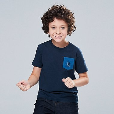 KIDS MICKEY BLUE GRAPHIC PRINT T-SHIRT