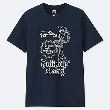 MAGIC FOR ALL ARCHIVE COLLECTION UT (SHORT-SLEEVE GRAPHIC T-SHIRT), NAVY, medium