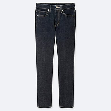 WOMEN HIGH RISE SKINNY FIT STRAIGHT LEG ANKLE LENGTH JEANS