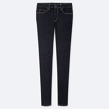 WOMEN ULTRA STRETCH JEANS (EXTENDED LENGTH) (ONLINE EXCLUSIVE), NAVY, medium