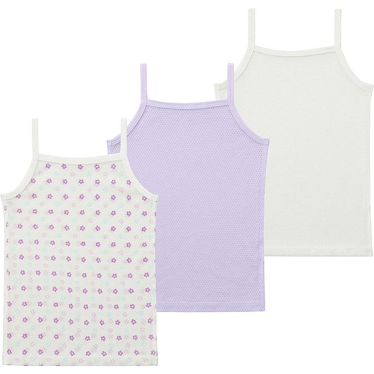 Toddler Mesh Camisole, 3-Pack, LIGHT PURPLE, large