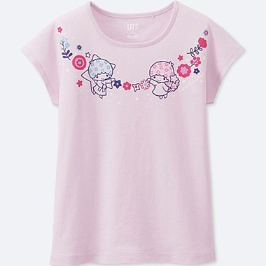 GIRLS SANRIO SHORT-SLEEVE GRAPHIC T-SHIRT, LIGHT PURPLE, medium