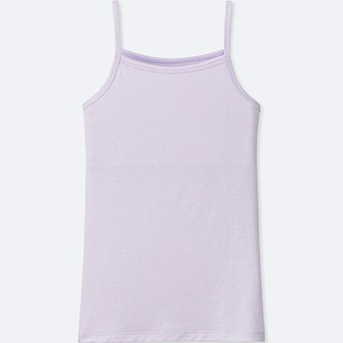 GIRLS AIRism CAMISOLE, LIGHT PURPLE, medium