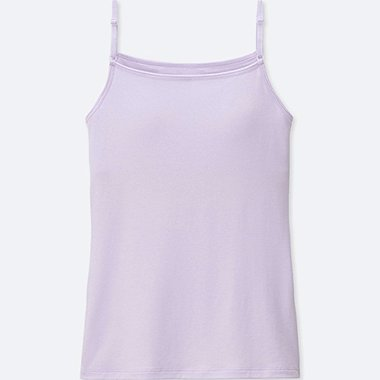 GIRLS AIRism BRA TOP, LIGHT PURPLE, medium