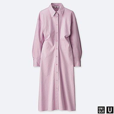 WOMEN UNIQLO U LONG SLEEVED SHIRT DRESS