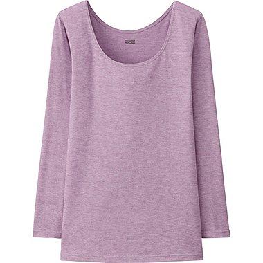 HEATTECH WOMEN Scoop Neck T-Shirt