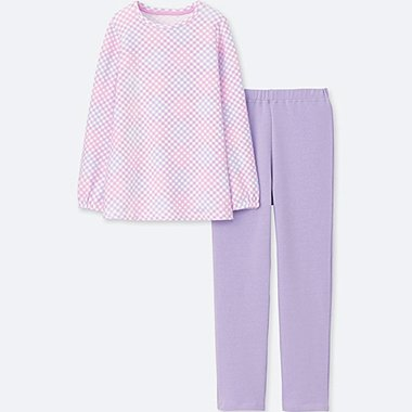 GIRLS ULTRA STRETCH LONG SLEEVE SWEAT SET
