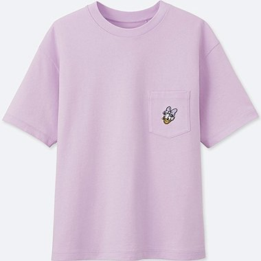 WOMEN MINNIE MOUSE BEST FRIENDS FOREVER SHORT-SLEEVE GRAPHIC T-SHIRT, PURPLE, medium