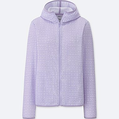 WOMEN SPRZ NY DRY-EX LONG-SLEEVE FULL-ZIP HOODIE (FRANCOIS MORELLET), PURPLE, medium