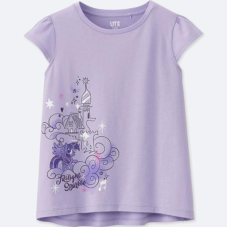 GIRLS MY LITTLE PONY GRAPHIC T-SHIRT, PURPLE, large