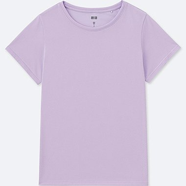 T-SHIRT DRY-EX COL ROND FEMME