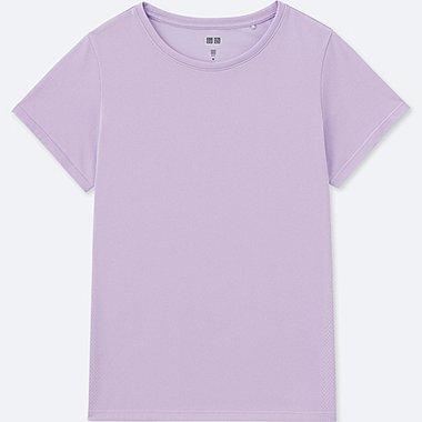 WOMEN DRY-EX CREW NECK T-SHIRT