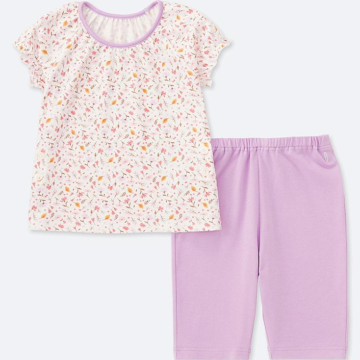 TODDLER DRY SHORT-SLEEVE PAJAMAS (ONLINE EXCLUSIVE), PURPLE, large