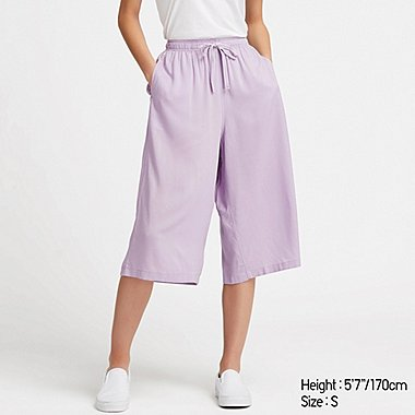 WOMEN RELACO 3/4 SHORTS, PURPLE, medium
