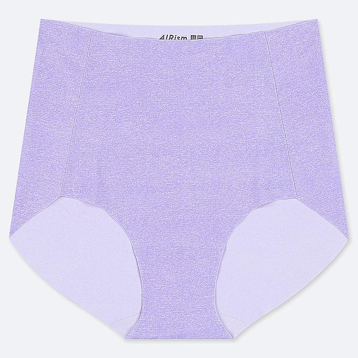 WOMEN AIRism ULTRA SEAMLESS HIGH-RISE BRIEF SHORTS, PURPLE, large