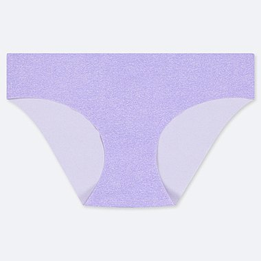 WOMEN AIRism ULTRA SEAMLESS BIKINI SHORTS, PURPLE, medium
