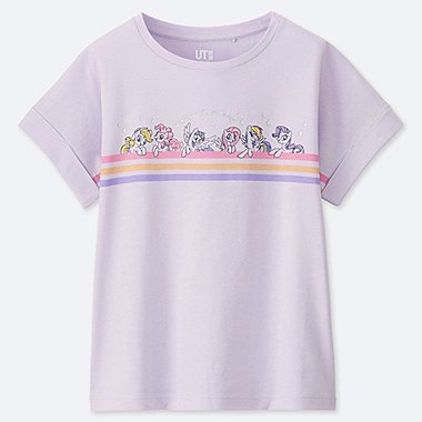 GIRLS MY LITTLE PONY GRAPHIC PRINT T-SHIRT