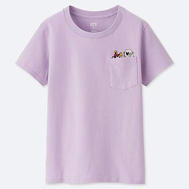 WOMEN CELEBRATE MICKEY SHORT-SLEEVE GRAPHIC T-SHIRT, PURPLE, medium