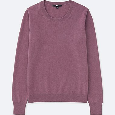 PULL CACHEMIRE COL ROND FEMME