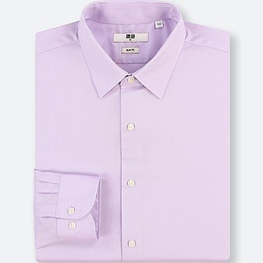 HERREN EASY CARE OXFORD-HEMD MIT STRETCH-ANTEIL (SLIM FIT, KENT-KRAGEN)