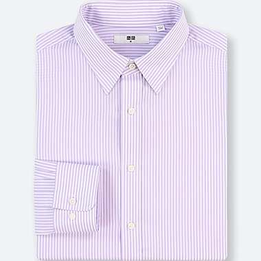 MEN BROADCLOTH EASY CARE STRIPED REGULAR FIT SHIRT