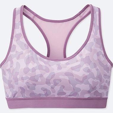 WOMEN Dry Active Bra (Camouflage)