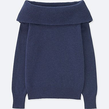 WOMEN LAMBSWOOL TURTLE NECK SWEATER