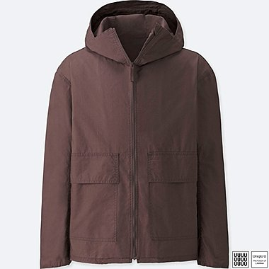 MEN UNIQLO U COTTON FULLZIP PARKA