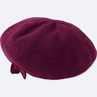 KIDS HEATTECH KNITTED BERET HAT
