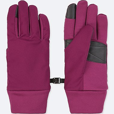 WOMEN FUNCTION GLOVES, PURPLE, medium