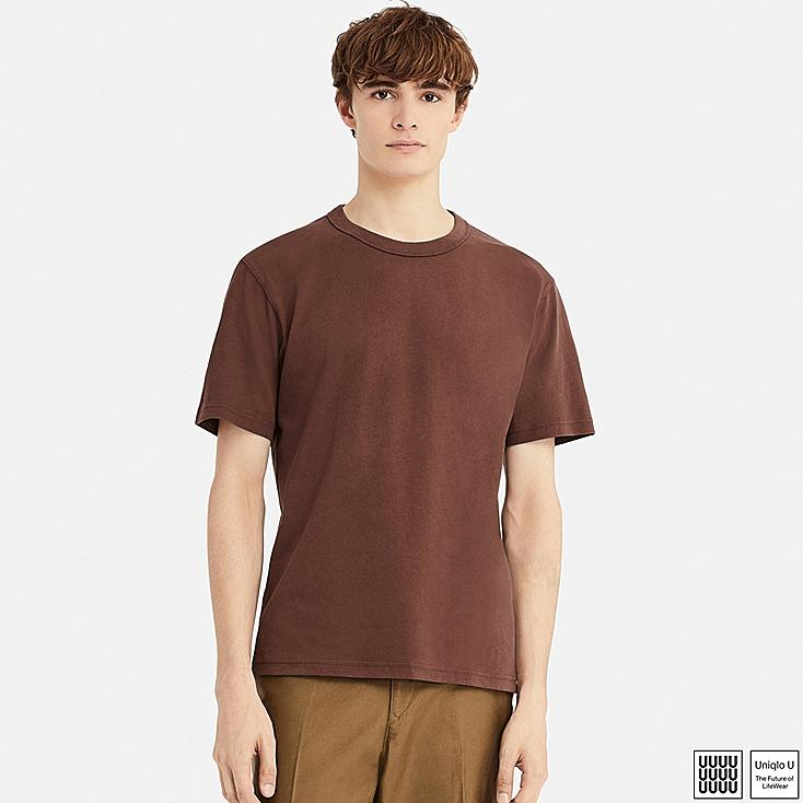 f06c713db MEN U CREW NECK SHORT-SLEEVE T-SHIRT