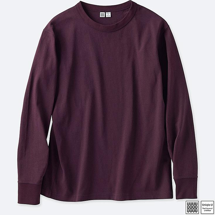 MEN U CREWNECK LONG-SLEEVE T-SHIRT | UNIQLO US