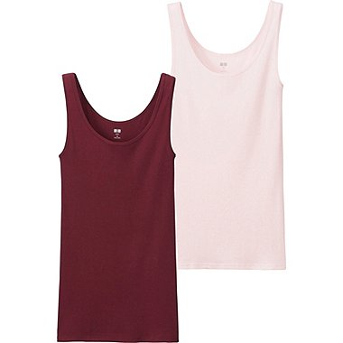 DAMEN Trägertop aus Supima Cotton 2-Pack