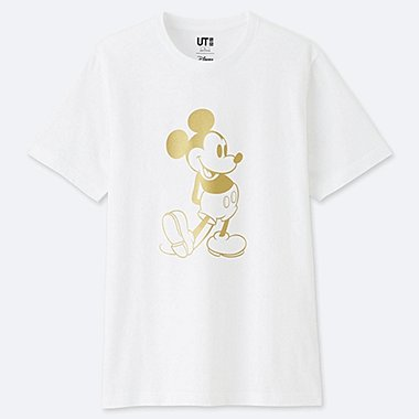 MICKEY STANDS SHORT-SLEEVE GRAPHIC T-SHIRT, 90, medium