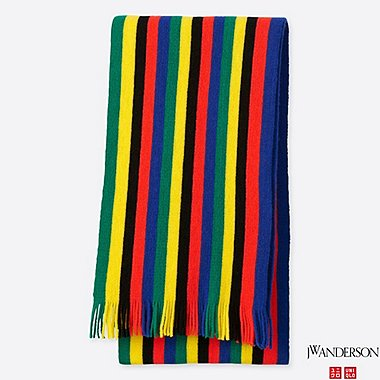 J.W.ANDERSON STRIPED SCHOOL SCARF
