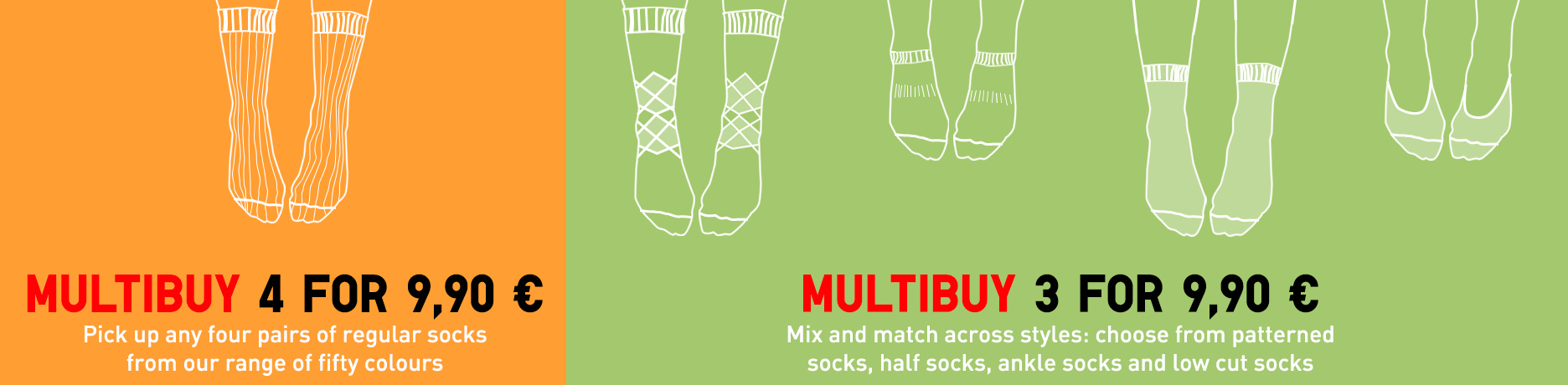 Socks Multibuy