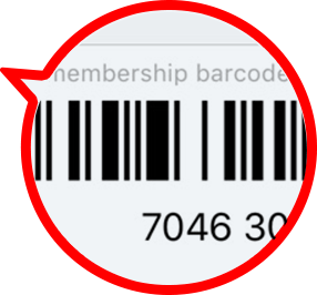 barcode bubble