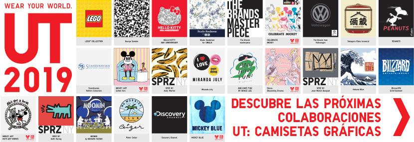 Descubre las próximas colaboraciones UT: Camisetas Gráficas