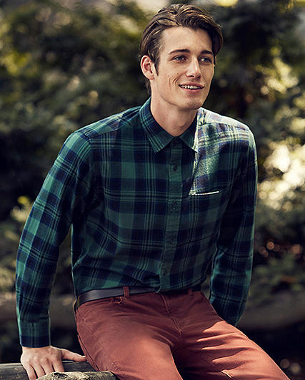 Men Flannel