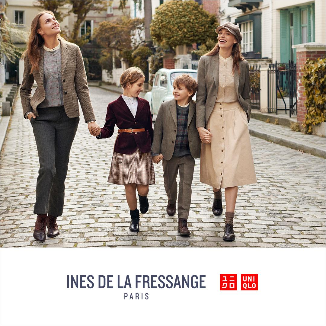 ines de la fressange returns with all-new styles for a new season. shop now